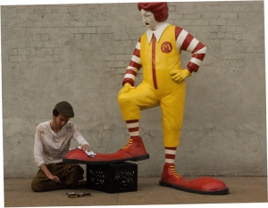 MCDONALD-bansky_performance