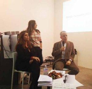 Walkie Talkies, Artissima 2013. Christine Macel, Filipa Ramos e Hans Ulrich Obrist.