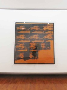 Andy Warhol, Orange Car Crash, 1965, Gam, Torino