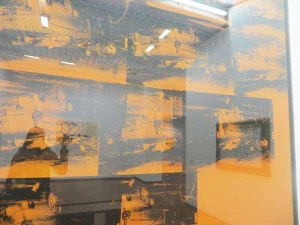 Andy Warhol, Orange car crash, 1965, Gam, Torino