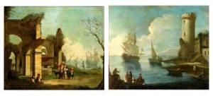 Cerchia di Antonio Stom, 1688-1734, Venezia. All'asta da Bonhams il 12 Dic. 2013. Stima 1.200-1.800 euro.