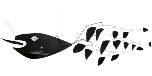 Alexander Calder, Poisson Volant, 1957