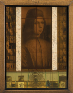 Jospeh Cornell, Medici Slot Machine, 1943